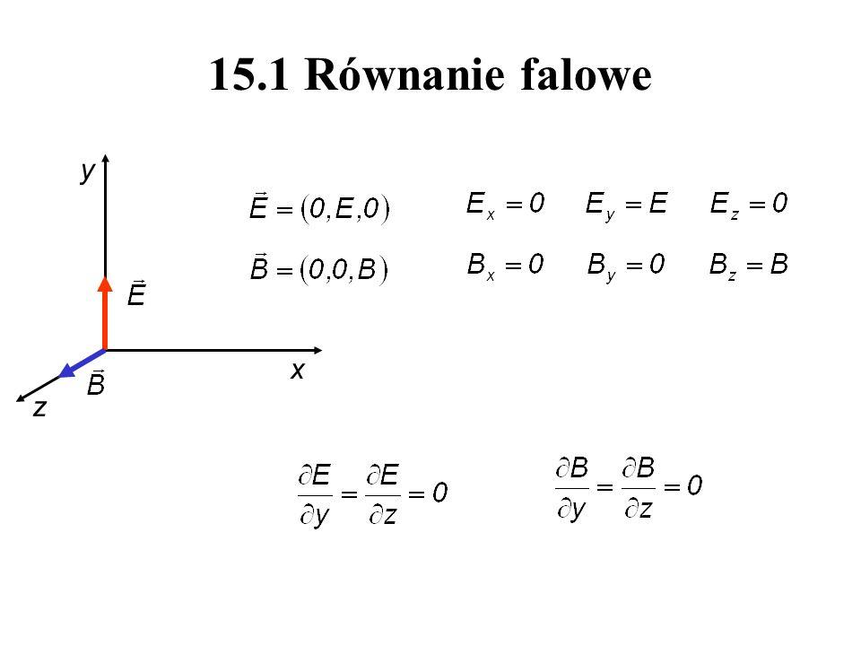 15.1 Równanie falowe x y z