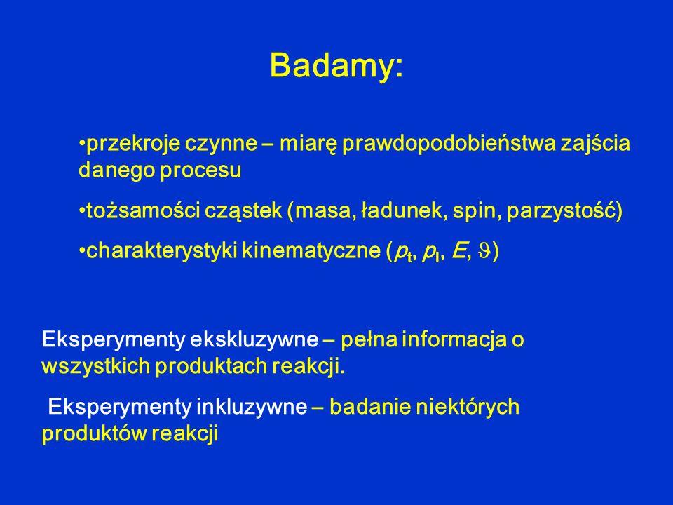 Kinematyka reakcji laboratoryjny układ odniesienia: vava MAMA MaMa vBvB MBMB B vbvb b MbMb LAB vBvB vava MAMA MaMa vBvB b MbMb v b MBMB B CM układ środka masy: