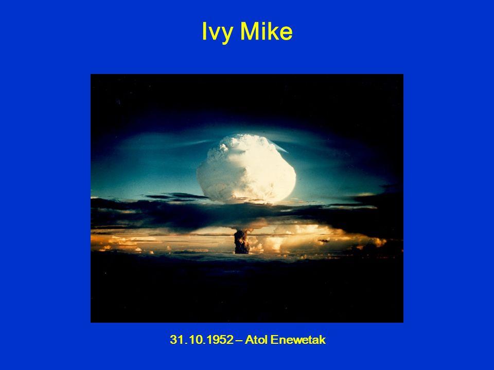 31.10.1952 – Atol Enewetak Ivy Mike