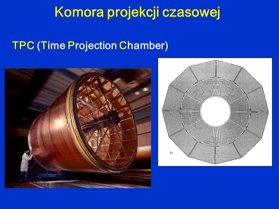 TPC (Time Projection Chamber) Komora projekcji czasowej