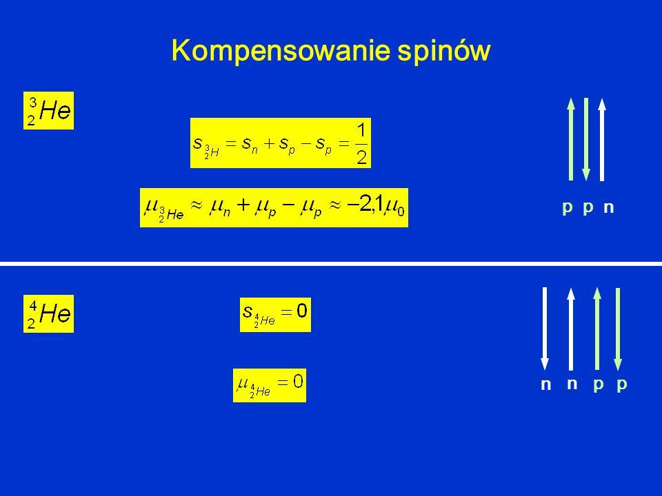 Kompensowanie spinów npp n pp n