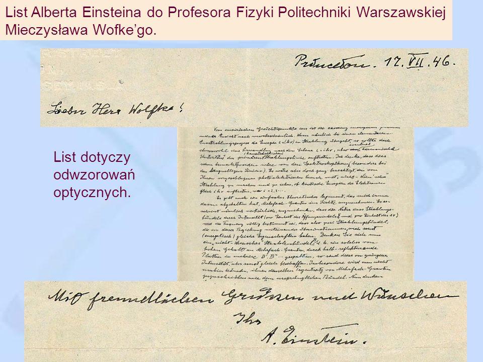 Leopold Infeld – profesor UW - współpracownik Alberta Einsteina