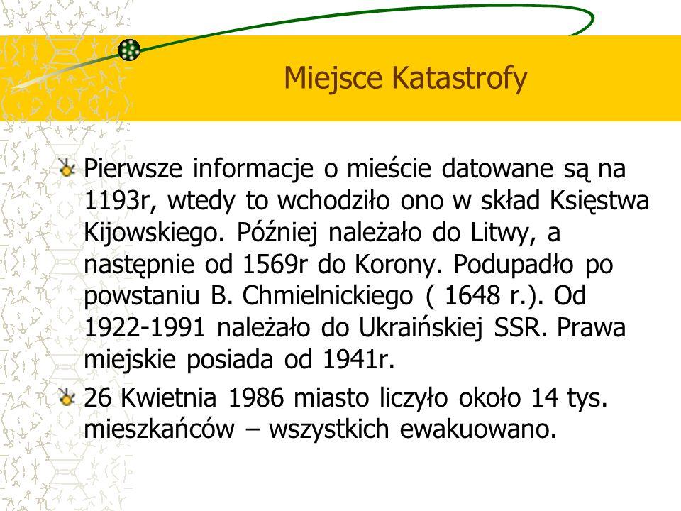 Miejsce Katastrofy Pierwsze informacje o mieście datowane są na 1193r, wtedy to wchodziło ono w skład Księstwa Kijowskiego. Później należało do Litwy,