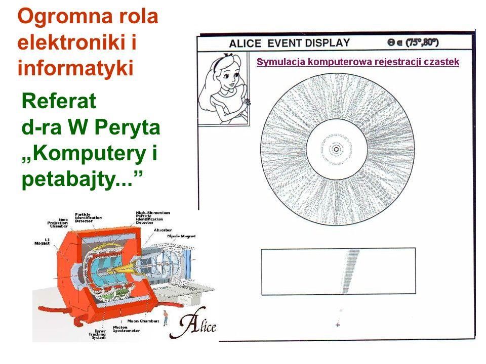 Magnes Komora projekcji czasu Detektor identyfikacji cząstek Detektor identyfikacji cząstek o wielkich pędach Magnes dipolowy Komora muonowa Spektrome