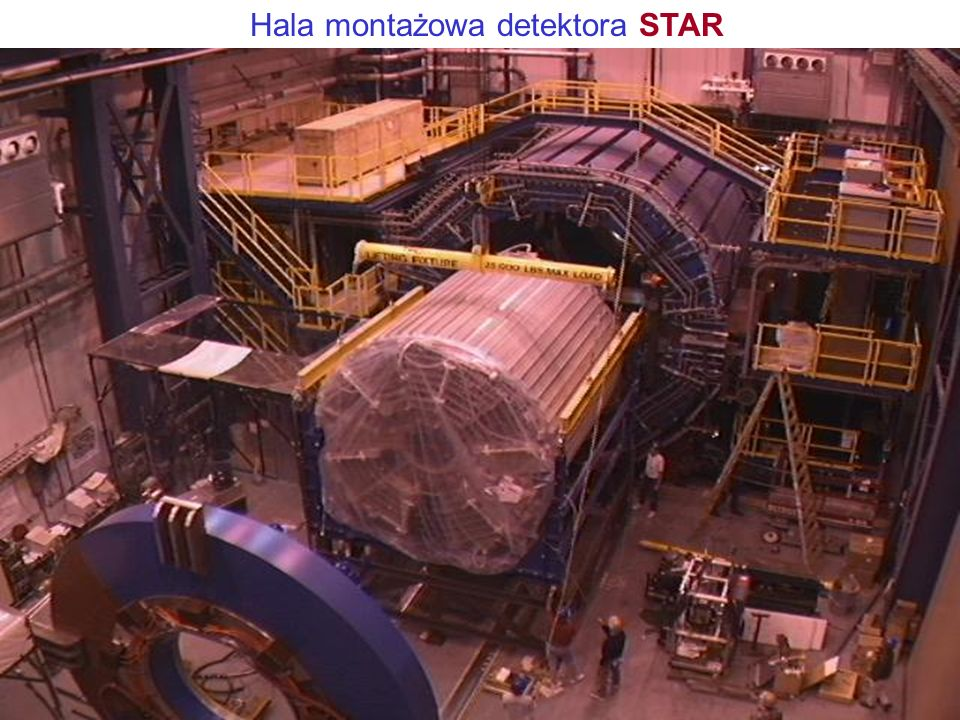 (Detektor STAR) Solenoidal Tracker At RHIC