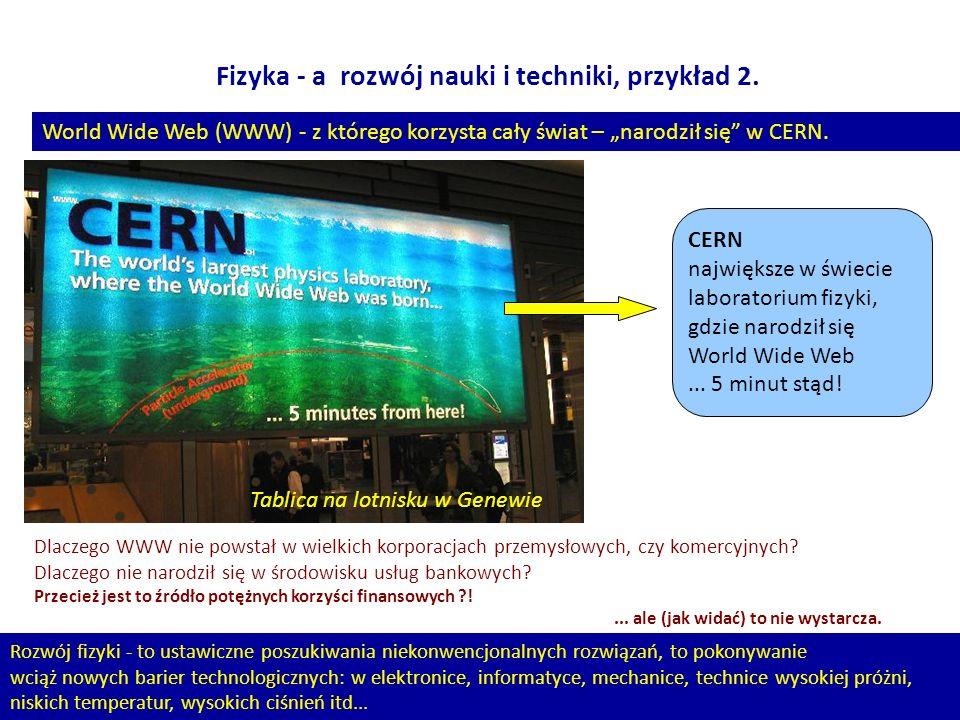 11 Fizyka - a rozwój nauki i techniki, przykład 2. Dlaczego WWW nie powstał w wielkich korporacjach przemysłowych, czy komercyjnych? Dlaczego nie naro