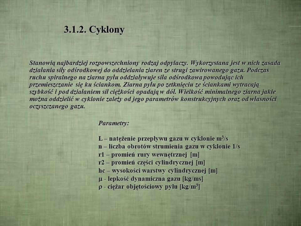 3.1.1.Komory osadcze c.d.