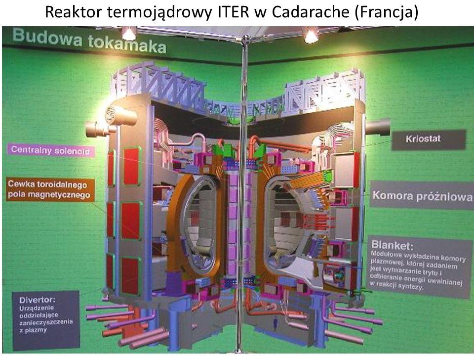 Reaktor termojądrowy ITER w Cadarache (Francja)