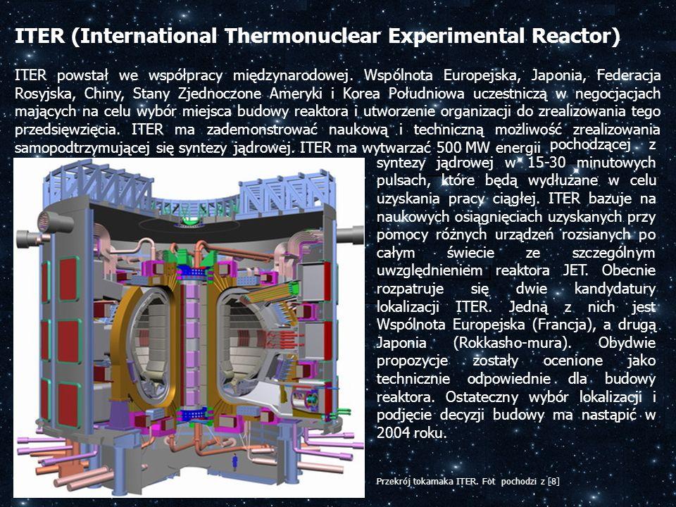 ITER powstał we współpracy międzynarodowej. Wspólnota Europejska, Japonia, Federacja Rosyjska, Chiny, Stany Zjednoczone Ameryki i Korea Południowa ucz