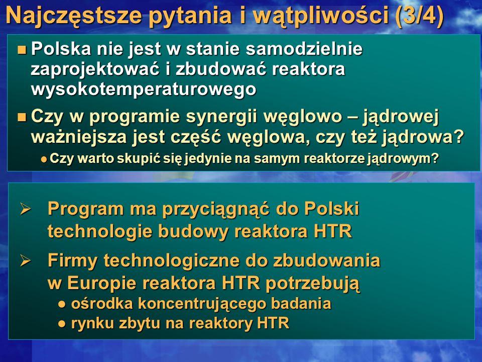 Polska nie jest w stanie samodzielnie zaprojektować i zbudować reaktora wysokotemperaturowego Polska nie jest w stanie samodzielnie zaprojektować i zb
