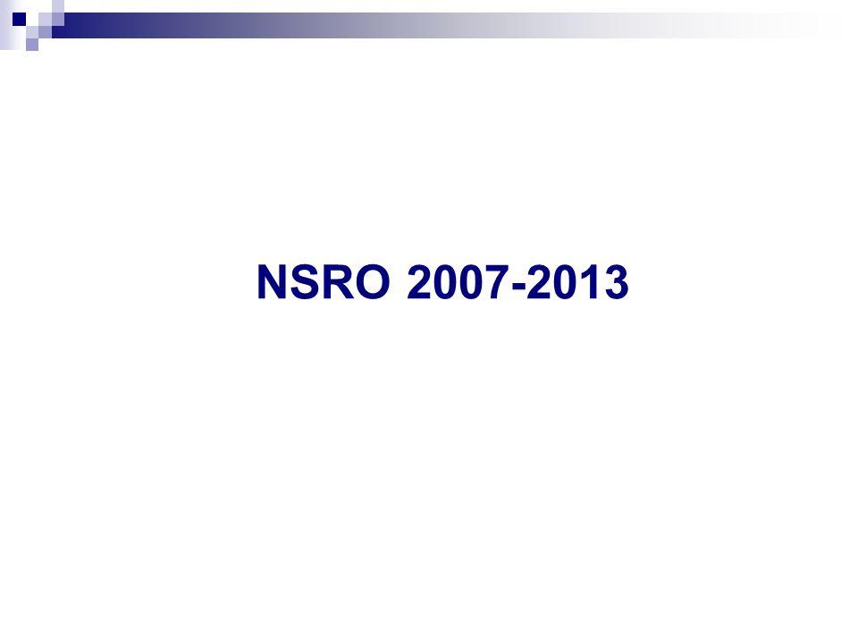 NSRO 2007-2013