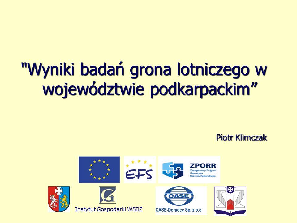 Piotr Klimczak Piotr Klimczak Instytut Gospodarki WSIiZ