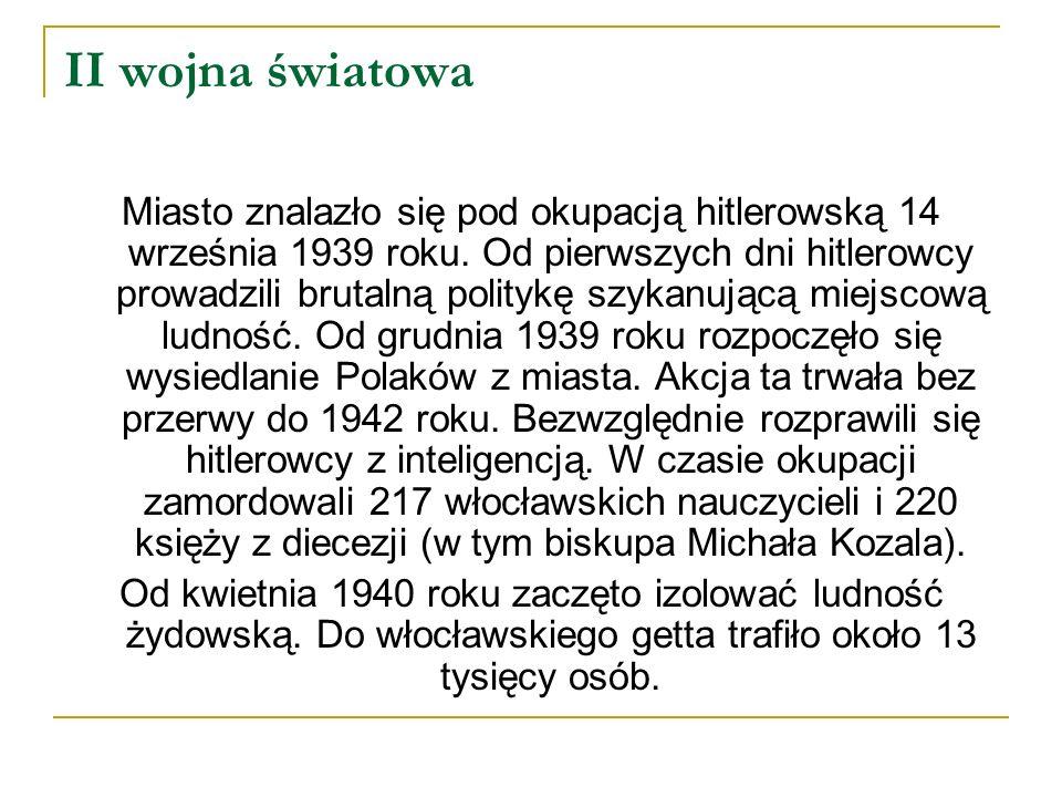 Zabór pruski Upadek gospodarczy trwał aż do utraty niepodległości. Po drugim rozbiorze w 1793 roku Włocławek został włączony do zaboru pruskiego. Czas