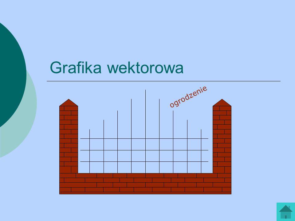 Grafika wektorowa ogrodzenie