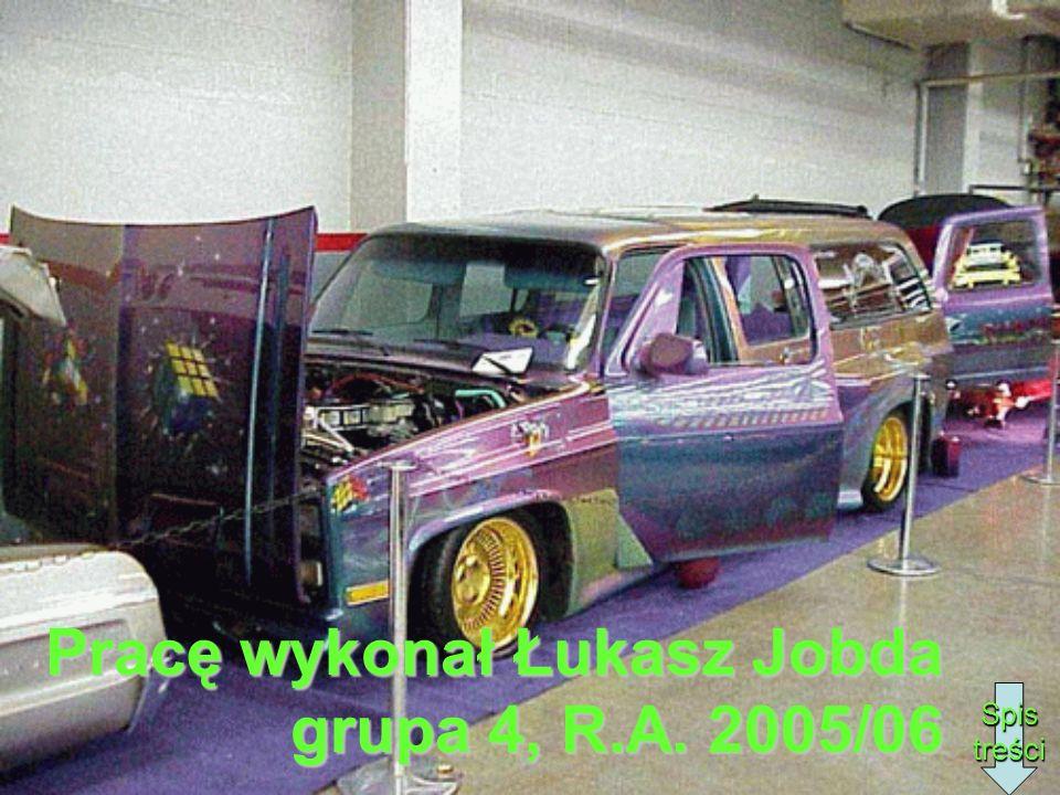 Pracę wykonał Łukasz Jobda grupa 4, R.A. 2005/06 Spis treści