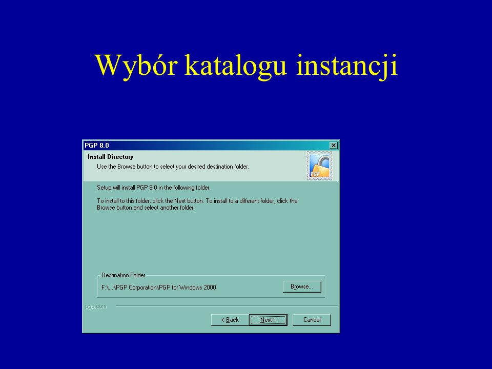 Koniec pierwszej fazy instancji, restart komputera