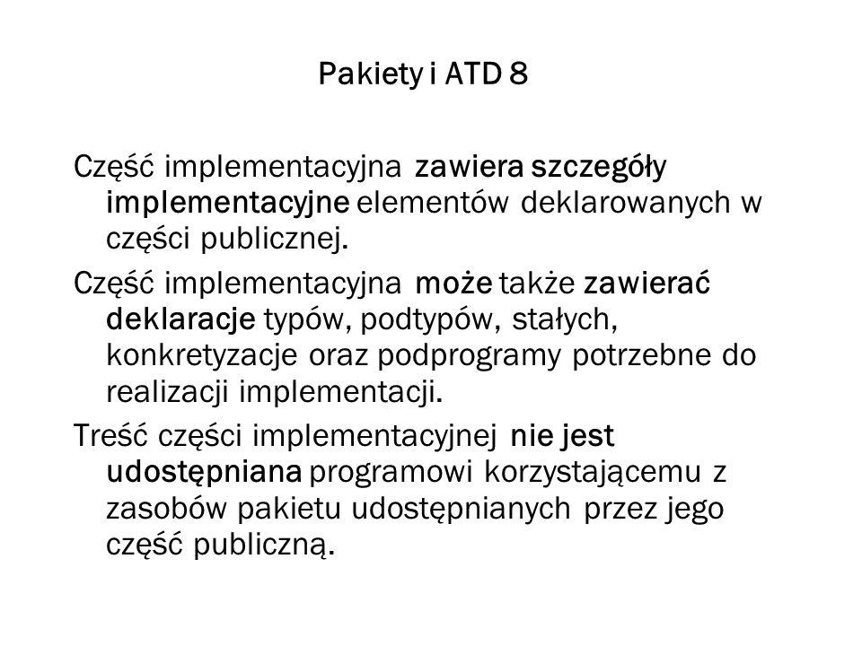 Pakiety i ATD 9 Część publiczna znajduje się w pliku z rozszerzeniem ads.