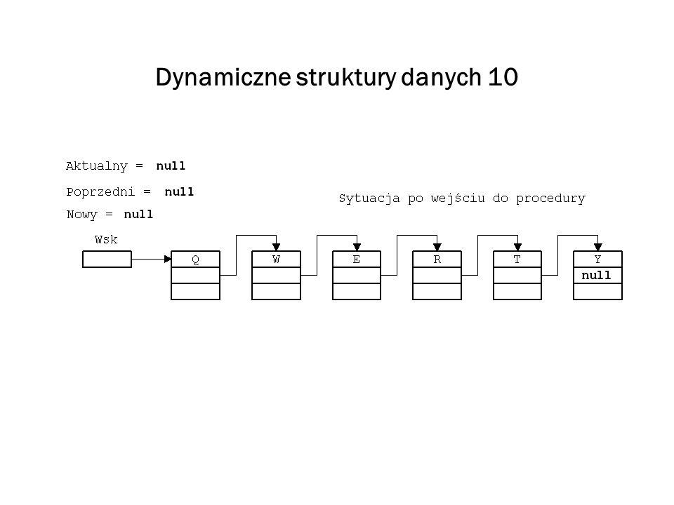 Dynamiczne struktury danych 10