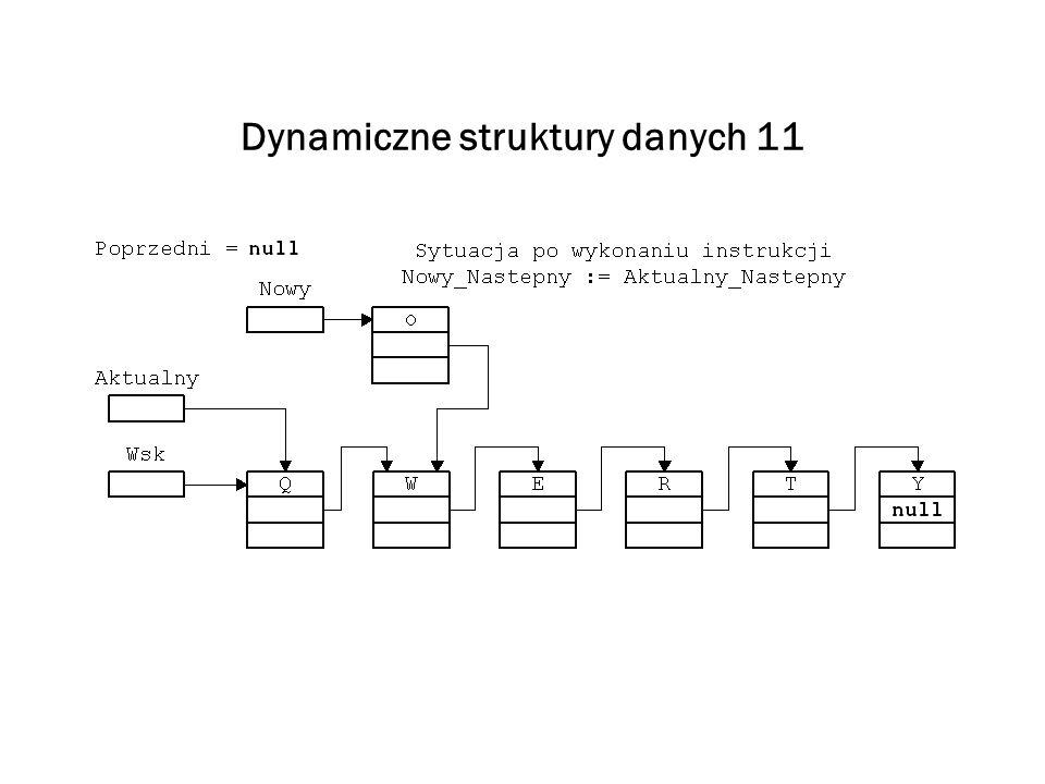 Dynamiczne struktury danych 11