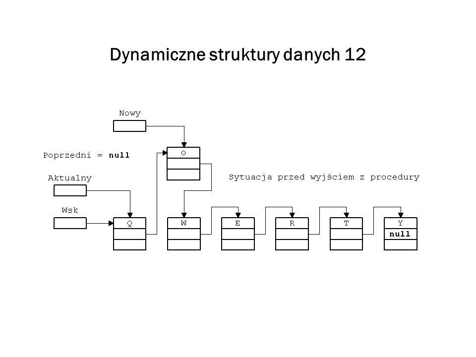Dynamiczne struktury danych 12