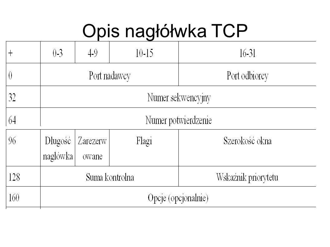 TCP/IP TCP/IPjest pakietem najbardziej rozpowszechnionych protokołów komunikacyjnych współczesnych sieci komputerowych.