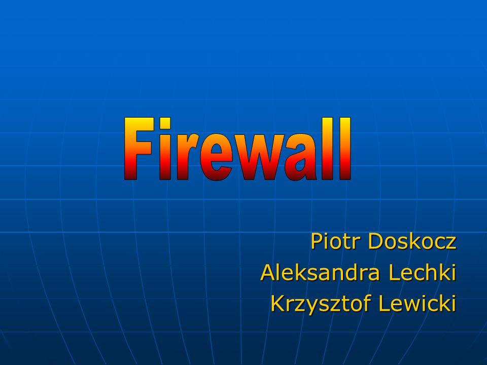 Co to jest Firewall.