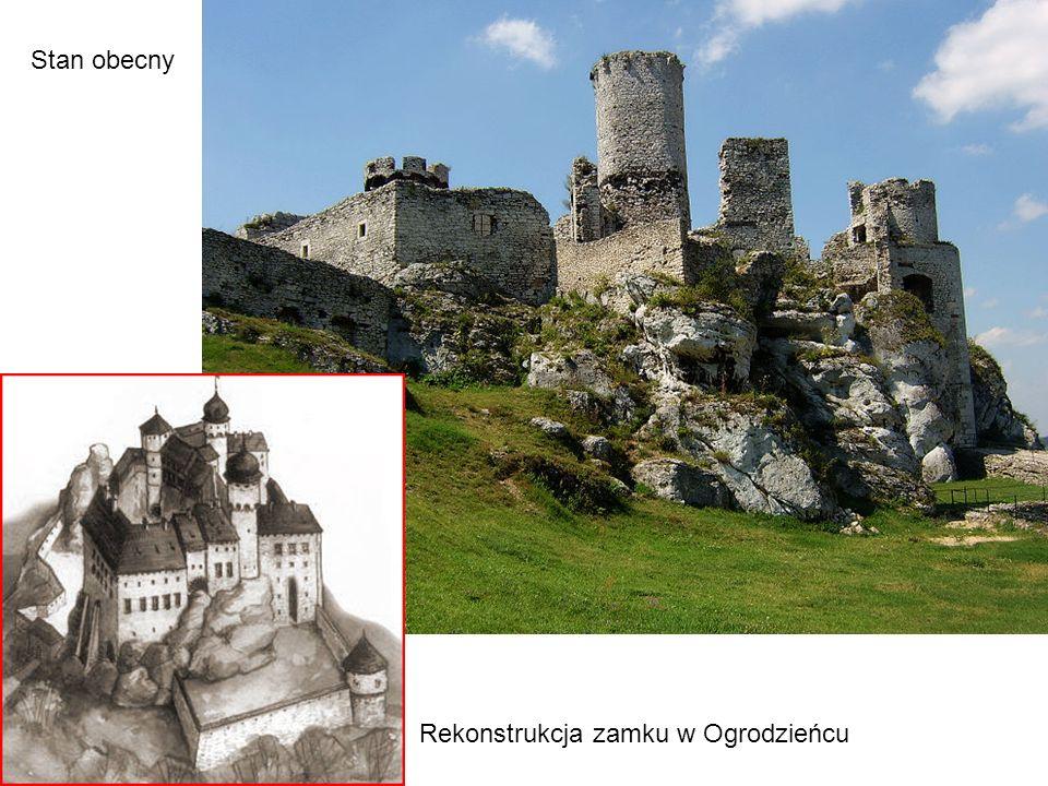 Rekonstrukcja zamku w Ogrodzieńcu Stan obecny