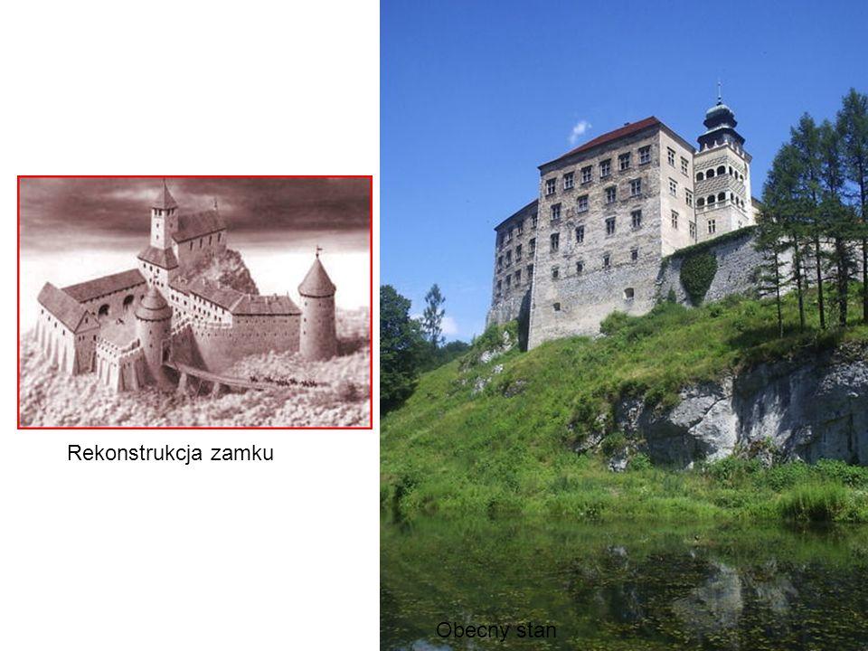 Rekonstrukcja zamku Obecny stan