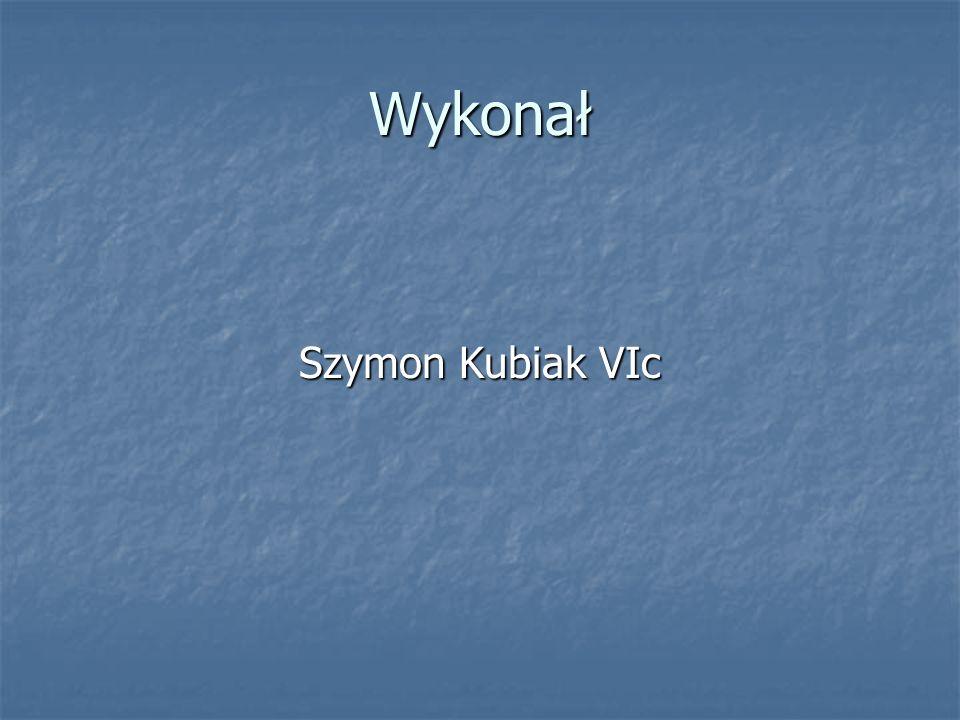 Wykonał Szymon Kubiak VIc