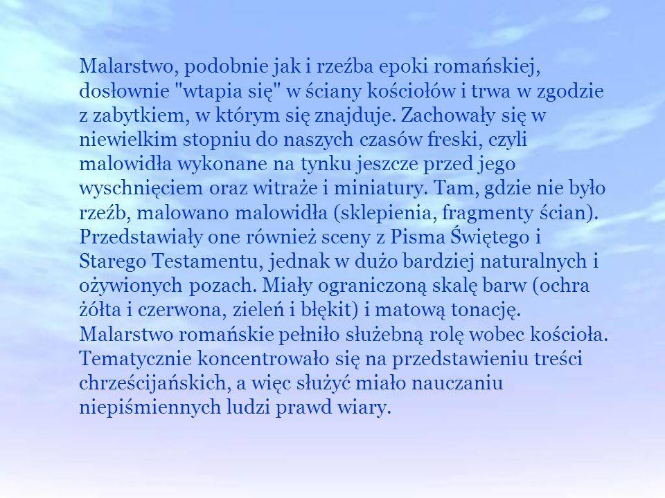 . Cechy architektury romańskiej