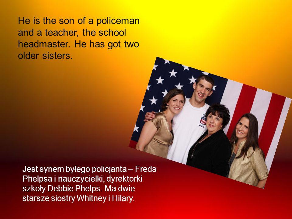 Jest synem byłego policjanta – Freda Phelpsa i nauczycielki, dyrektorki szkoły Debbie Phelps. Ma dwie starsze siostry Whitney i Hilary. He is the son