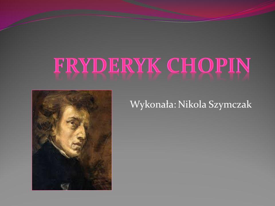 Wykonała: Nikola Szymczak