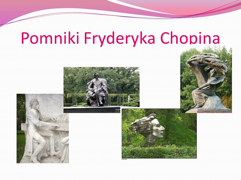 Pomniki Fryderyka Chopina