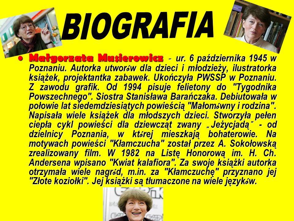 Polski film familijny Kłamczucha powstał w 1981 roku na podstawie książki Małgorzaty Musierowicz.