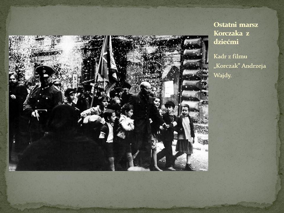 Kadr z filmu Korczak Andrzeja Wajdy.