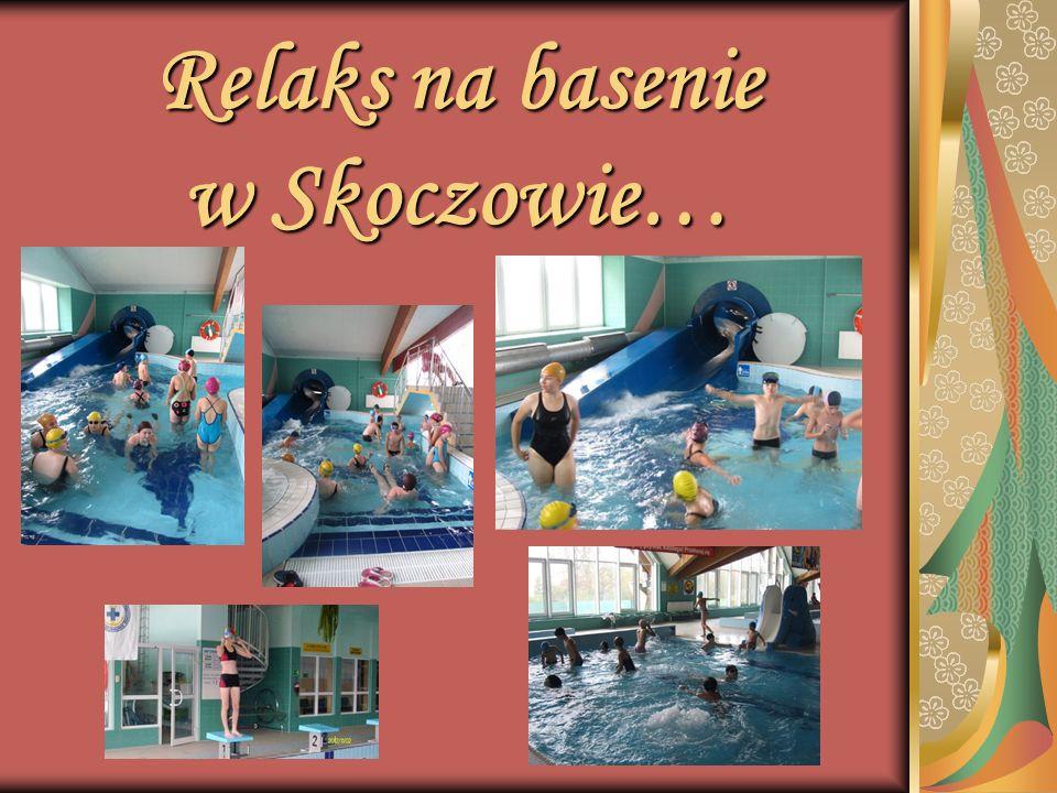 Relaks na basenie w Skoczowie…