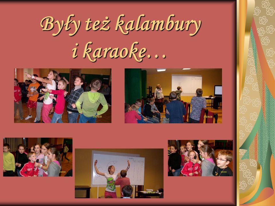 Były też kalambury i karaoke…
