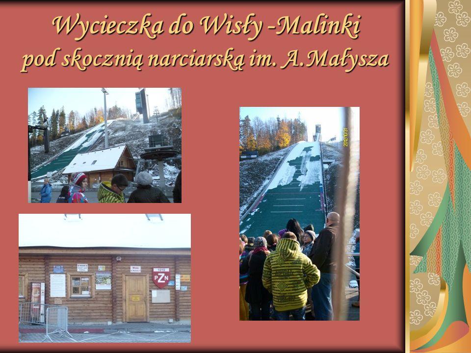 Wycieczka do Wisły -Malinki pod skocznią narciarską im. A.Małysza