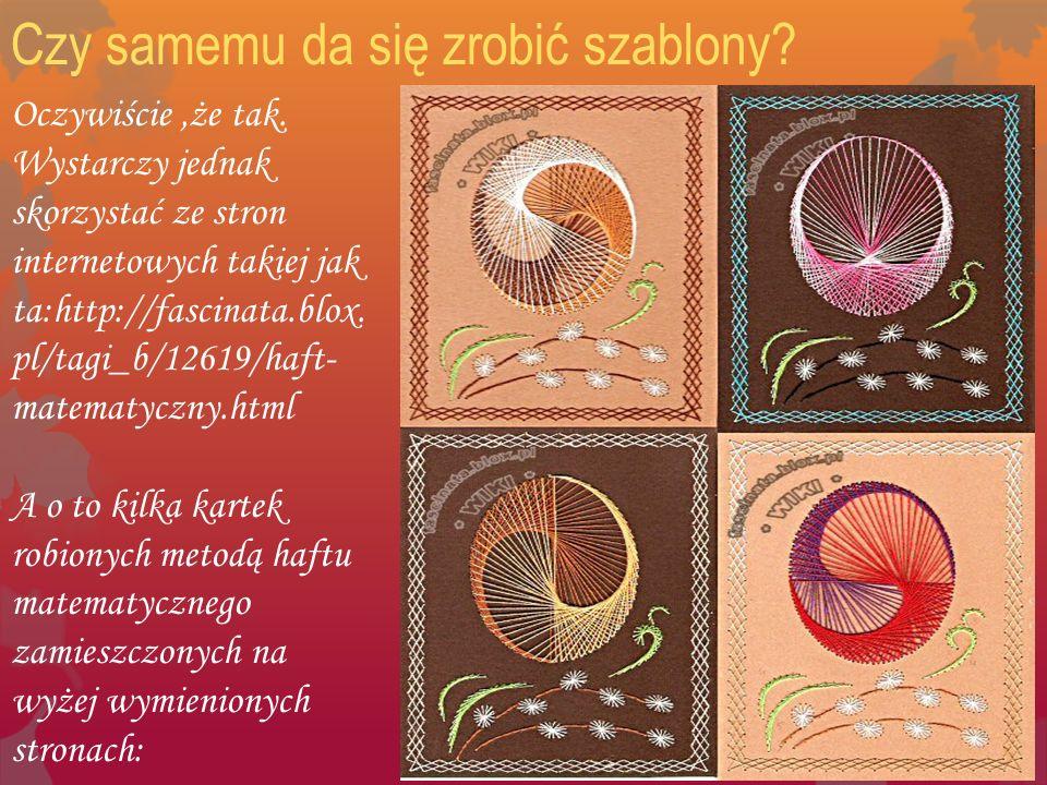 Czy samemu da się zrobić szablony? Oczywiście,że tak. Wystarczy jednak skorzystać ze stron internetowych takiej jak ta:http://fascinata.blox. pl/tagi_