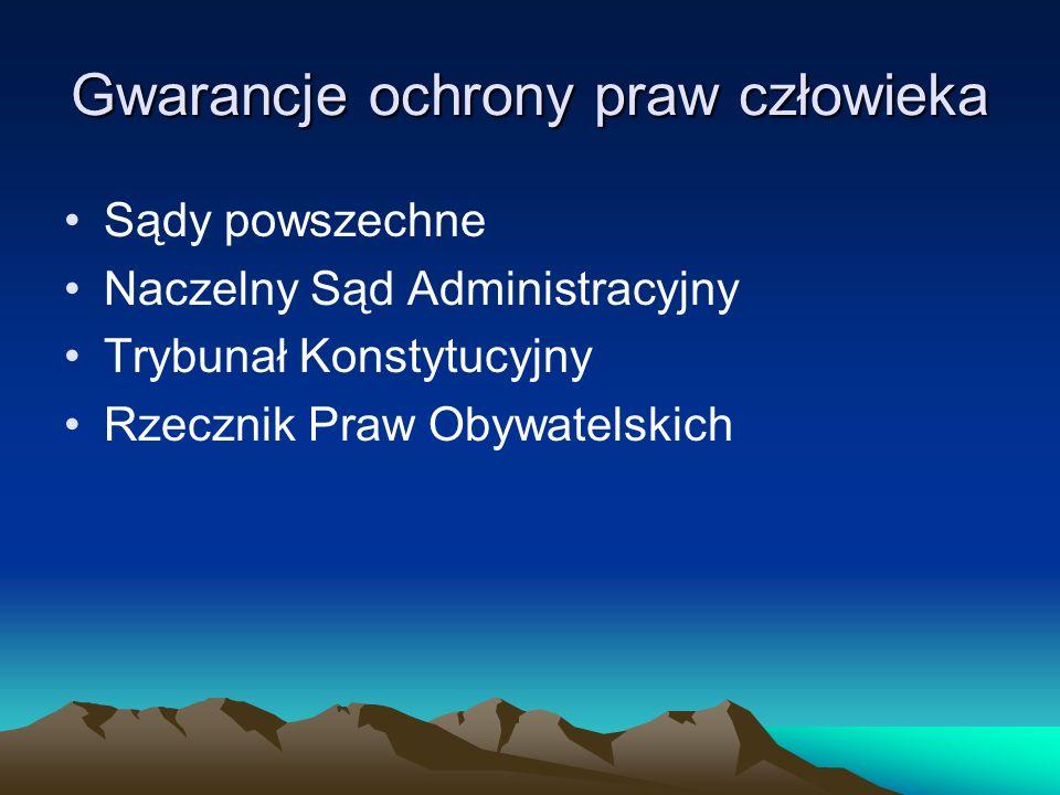 Każdy obywatel ma prawo skierować skargę do Rzecznika Praw Obywatelskich Rzecznikiem w Polsce jest Janusz Kochanowski Skargi należy kierować pod adresem: Biuro Rzecznika Praw Obywatelskich ul.