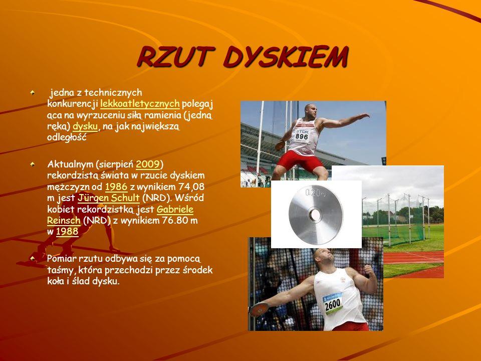 SKOK WZWYŻ konkurencja lekkoatletyczna, polegająca na odbiciu się (po wykonaniu rozbiegu) z jednej nogi i przeniesieniu całego ciała ponad poprzeczką