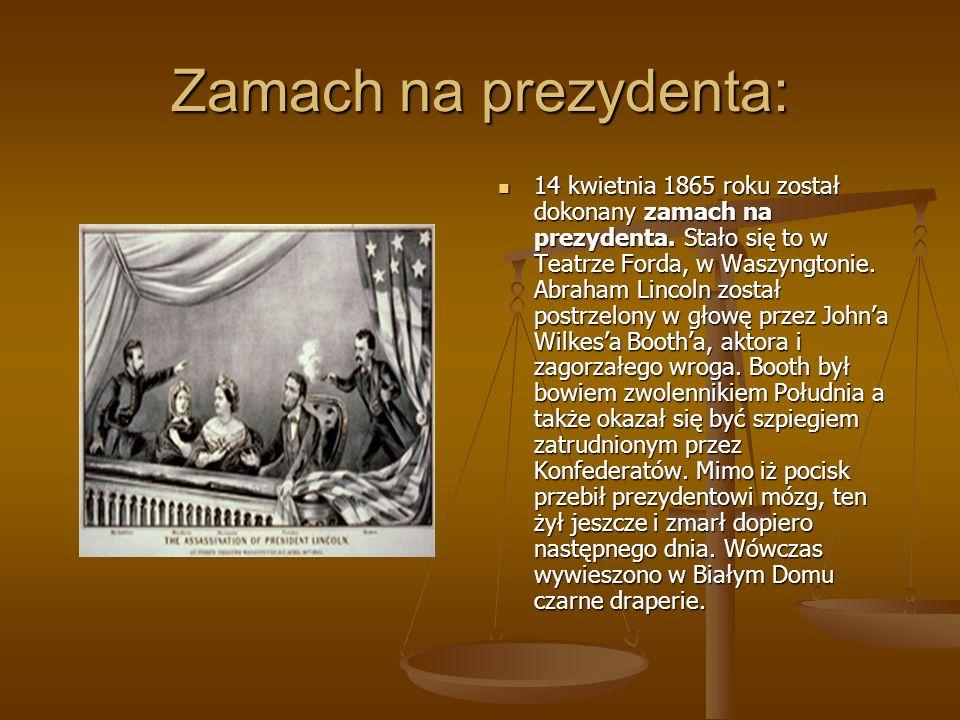 Słynne przemowy Lincolna Przemowa gettysburska była to krótka przemowa prezydenta wygłoszona w 1863 roku ku czci żołnierzy poległych w bitwie pod Gett