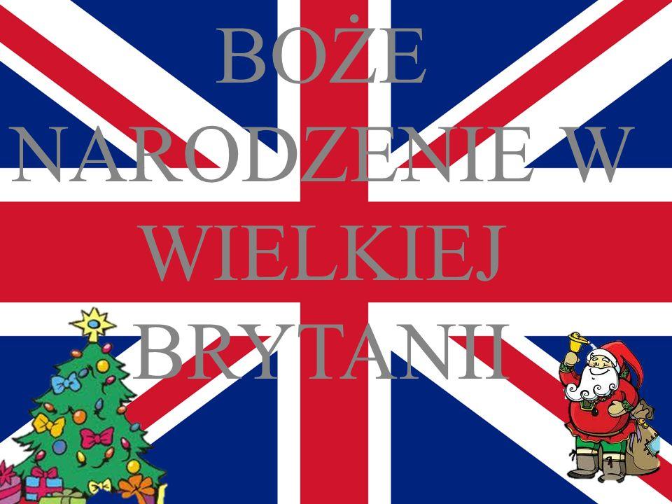 Anglicy bardzo radośnie, wręcz entuzjastycznie świętują Boże Narodzenie.