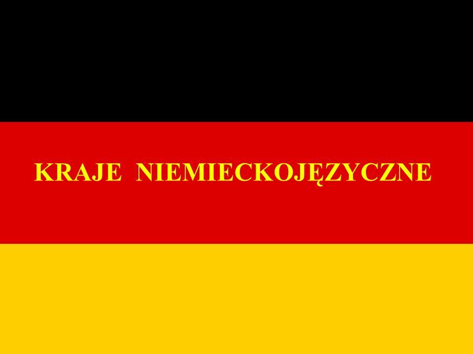 NIEMCY Niemcy znajdują się w Europie Środkowej.