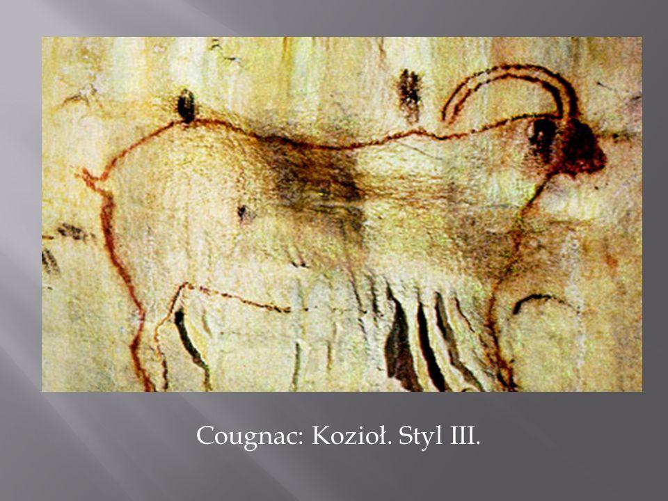 Cougnac: Kozioł. Styl III.