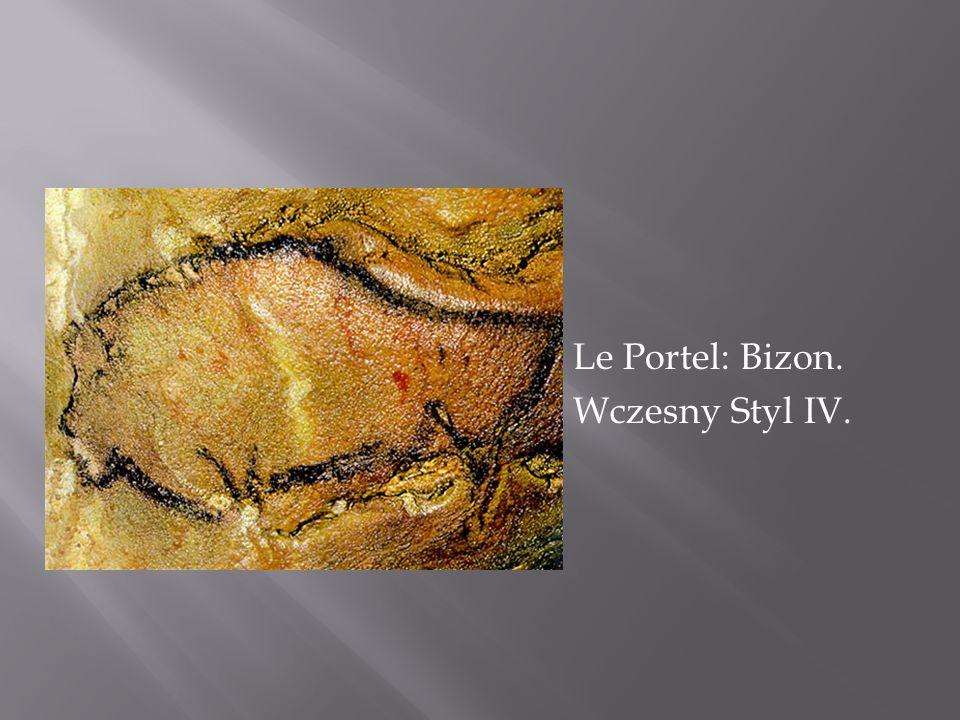 Le Portel: Bizon. Wczesny Styl IV.