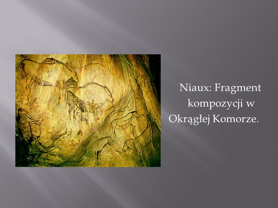 Niaux: Fragment kompozycji w Okrągłej Komorze.