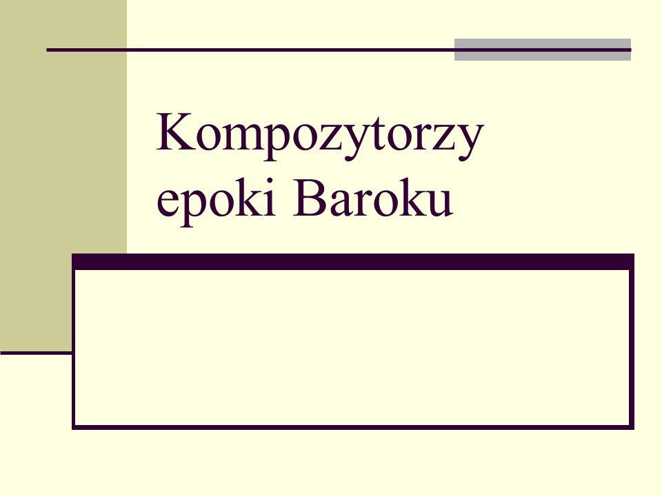 Najsłynniejsze dzieła : Canzoni e concerti ; Canon ; Missa a 4 sub concerto; Tamburetta.