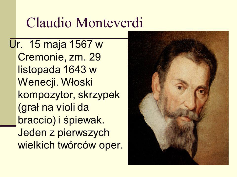 Najsłynniejsze dzieła : Lamento della Ninfa I bei legami Toccata Lo mi son giovinetta La Violetta