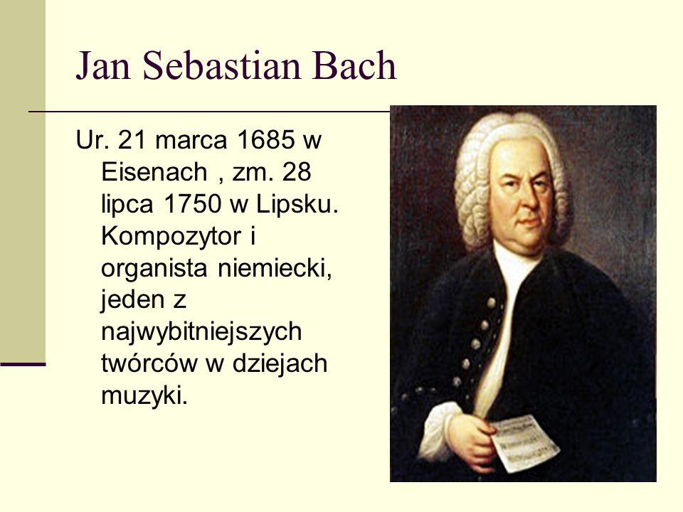 Najsłynniejsze dzieła : Das Wohltemperierte Klavier; Pasja według św.